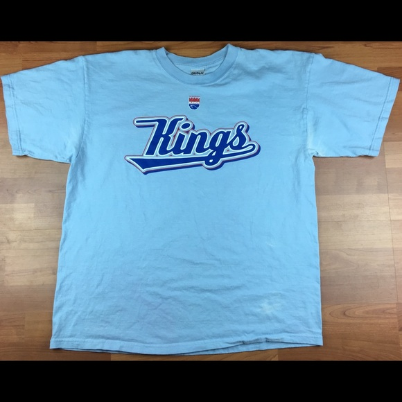 separation shoes 50d79 2877a Vintage NBA Sacramento Kings Throwback Style Shirt